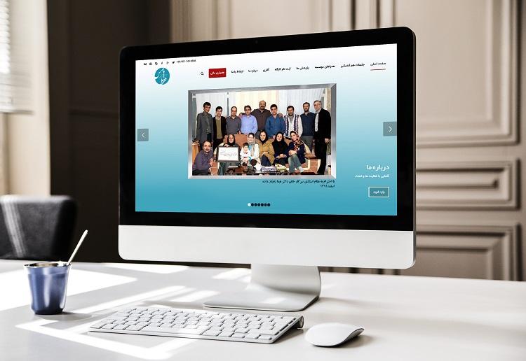 طراحی سایت فردای پارس