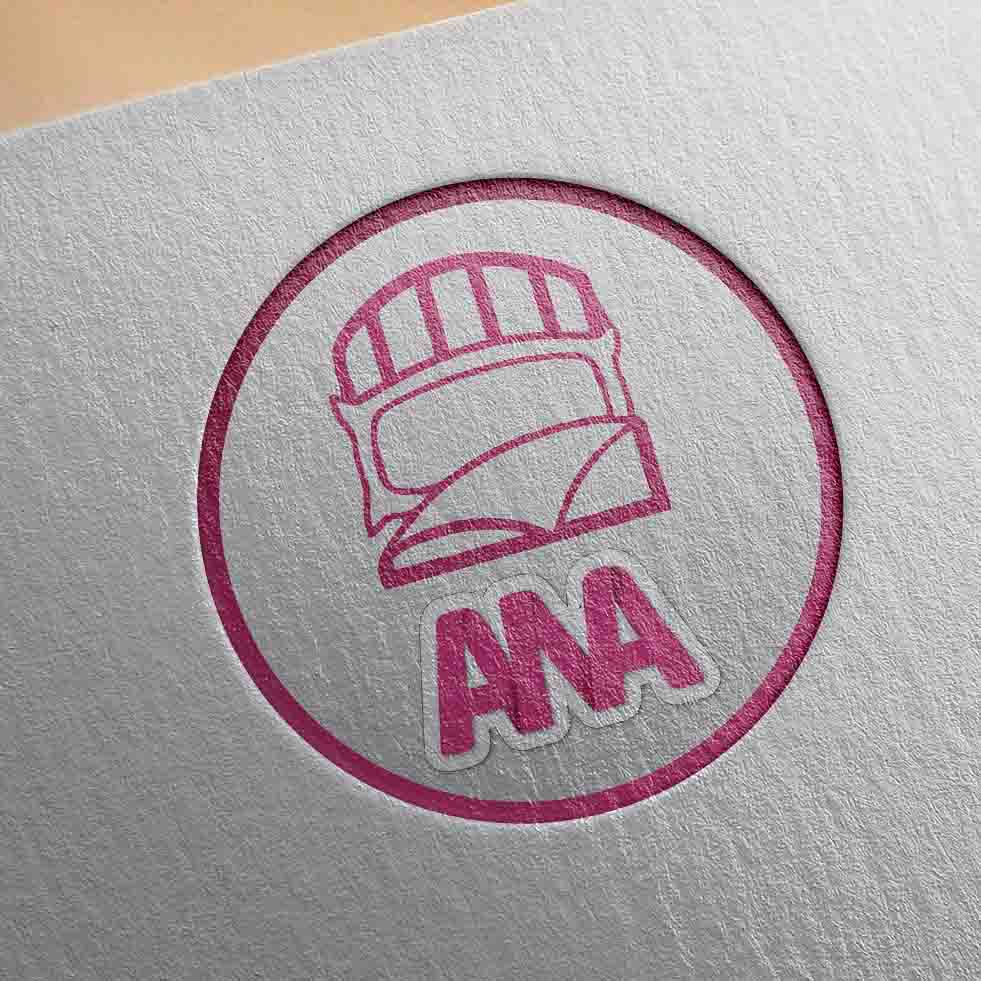 طراحی لوگو برای کالای خواب آنا
